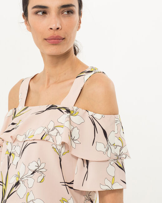 Emerine pale pink printed top (2) - 1-2-3