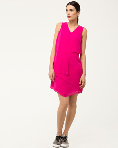 Fabienne frilly fuchsia dress (2) - 1-2-3