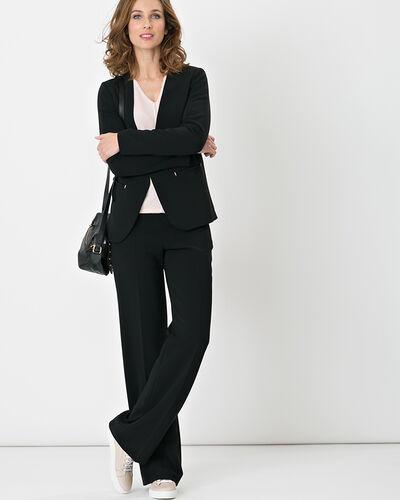 Maite black suit jacket (1) - 1-2-3