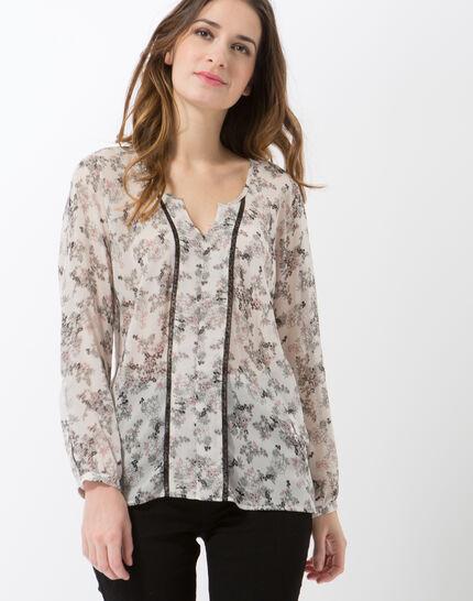 Eline printed blouse PhotoZ | 1-2-3
