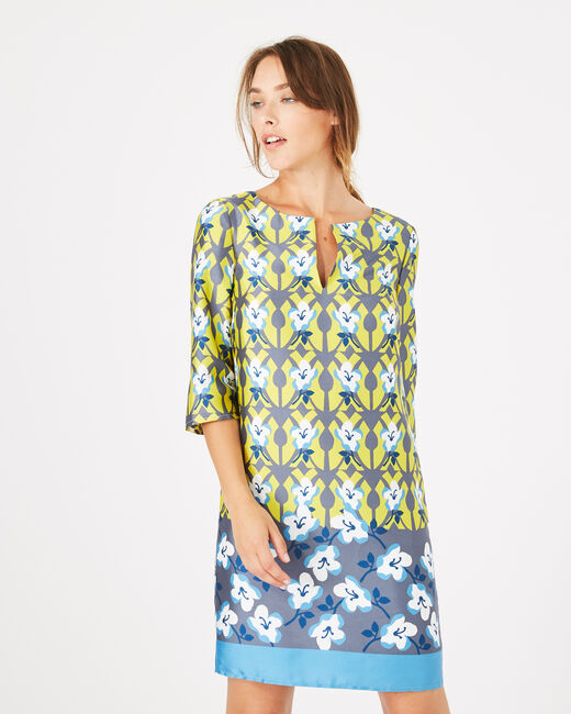 Brooklyn printed dress (1) - 1-2-3