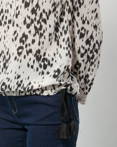 Ezra animal print blouse (2) - 1-2-3