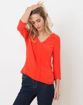 Nuage orangey t-shirt geranium.