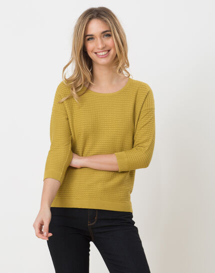 Hélice pistachio green sweater with long sleeves PhotoZ | 1-2-3