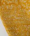 Sun yellow printed scarf PhotoZ | 1-2-3