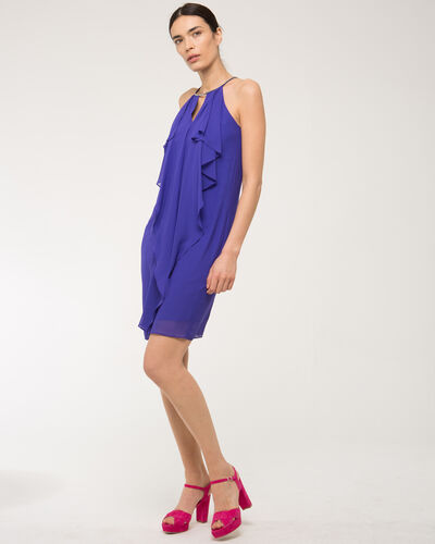 Frisson violet frilly dress (1) - 1-2-3