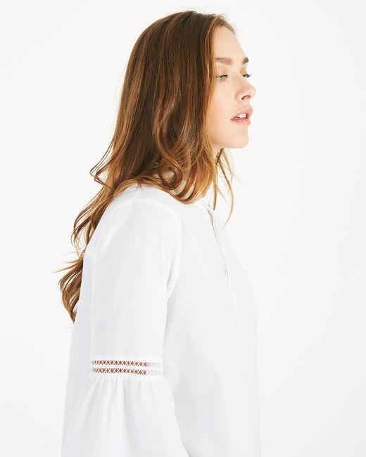 Dahlia ecru blouse (2) - 1-2-3