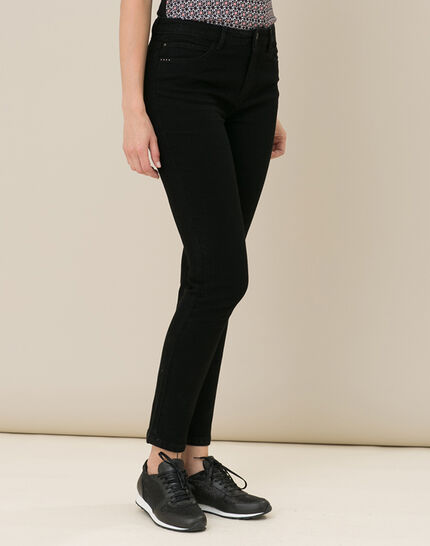 Oliver 7/8th length black jeans (4) - 1-2-3