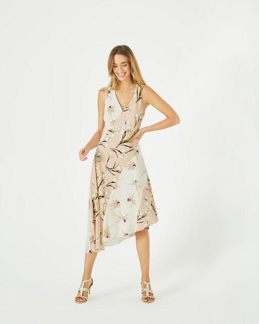 Robe mi-longue imprimée Beverly (1) - 1-2-3