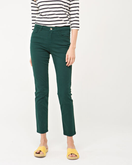 Pantalon vert sapin Oliver (2) - 1-2-3