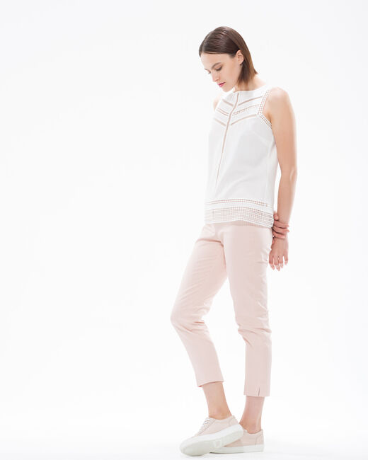 Rubis pale pink trousers  (1) - 1-2-3
