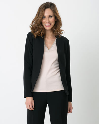 Bea black suit jacket (2) - 1-2-3