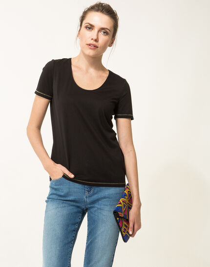 Noon black T-shirt PhotoZ | 1-2-3