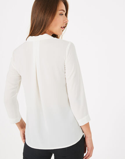 Elea ecru shirt (5) - 1-2-3