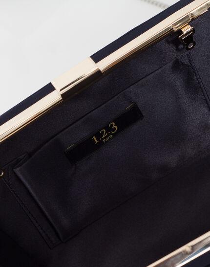 Pauline navy blue clutch bag (5) - 1-2-3