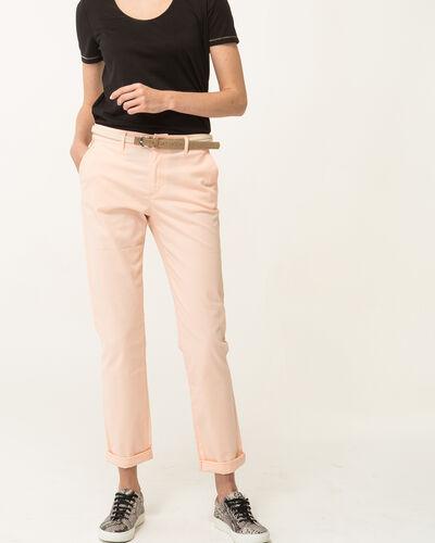 Pantalon 7/8ème abricot Francis (1) - 1-2-3