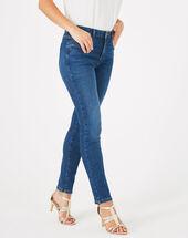 Oliver indigo stonewashed 7/8 length jeans light indigo.