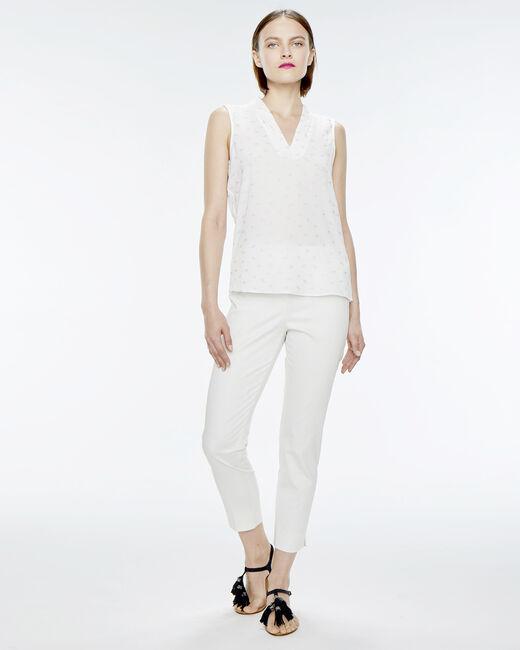 Rubis white trousers (1) - 1-2-3