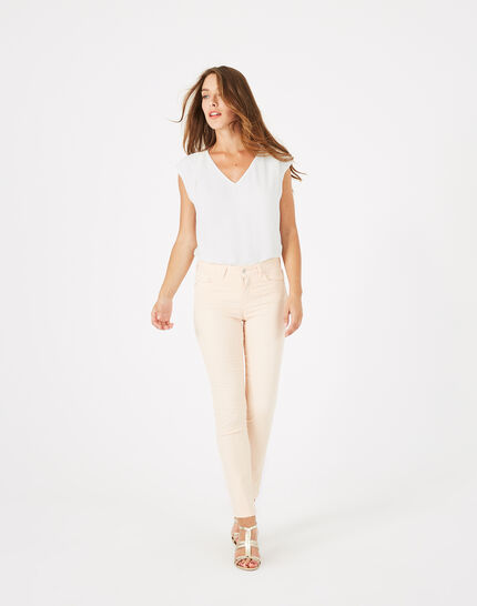 Pantalon rose pâle 7/8ème Oliver PhotoZ | 1-2-3