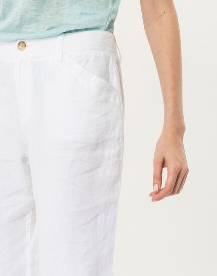 Dorian white linen chinos (5) - 1-2-3
