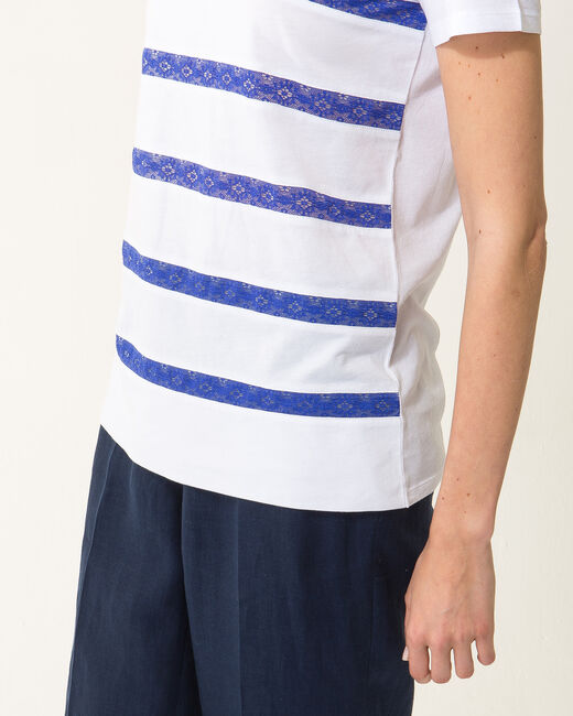 Nori striped blue T-shirt (2) - 1-2-3