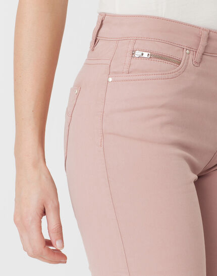 William powder pink satin trousers (5) - 1-2-3