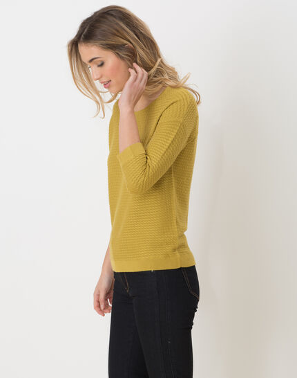 Hélice pistachio green sweater with long sleeves (3) - 1-2-3