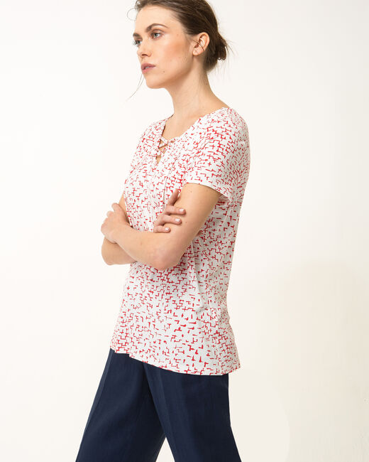 Tee-shirt graphique coquelicot Nuance (1) - 1-2-3