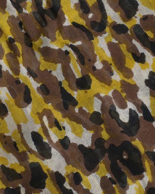 Foulard camel imprimé animalier Sorenza (2) - 1-2-3
