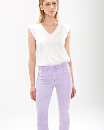 Pantalon lilas 7/8ème Oliver (1) - 1-2-3