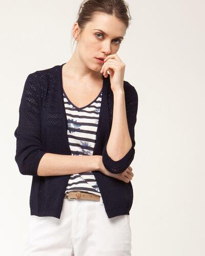 Holive blue knit jacket (2) - 1-2-3