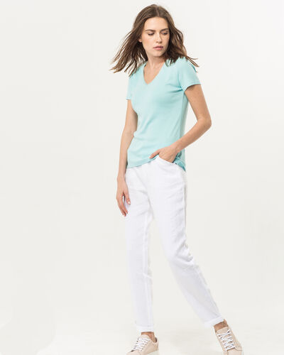 Tee-shirt bleu ciel Largo (2) - 1-2-3