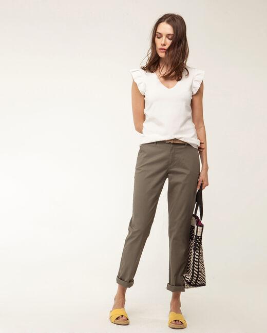 Pantalon 7/8ème kaki Francis (1) - 1-2-3