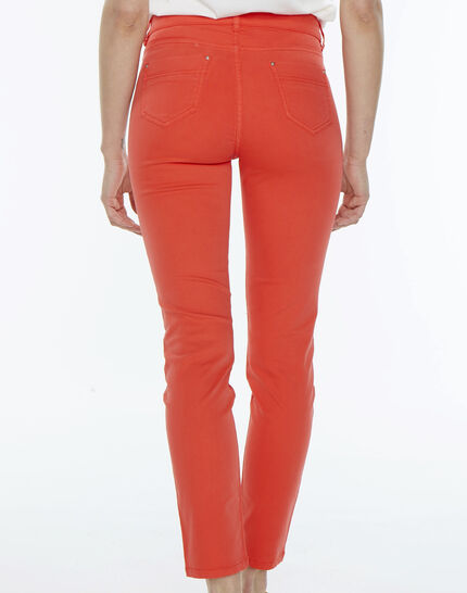 Oliver orange cropped trousers (4) - 1-2-3