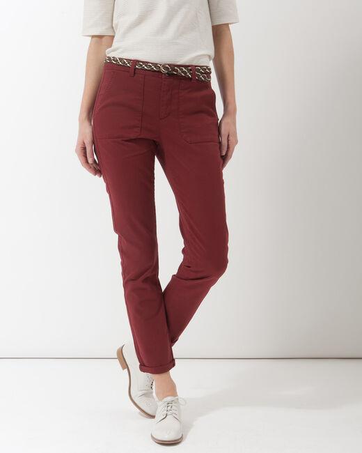 Pantalon 7/8ème tomette poches cargo Denis (2) - 1-2-3