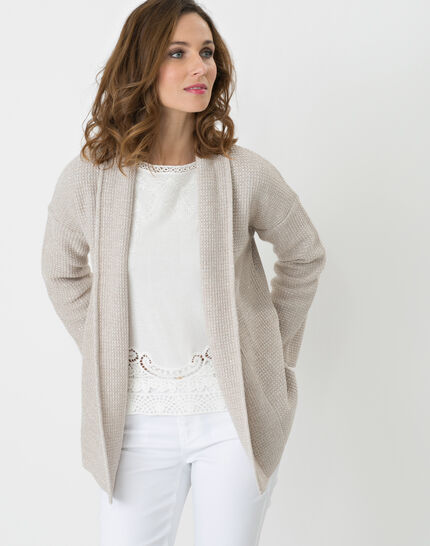 Hirise pale grey jacket-style cardigan (3) - 1-2-3