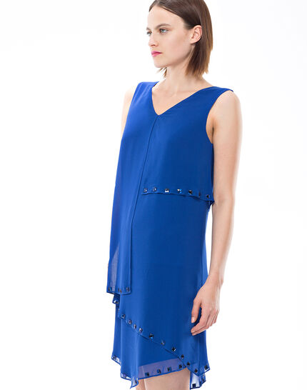 Fabienne floaty blue dress with cabochons (6) - 1-2-3
