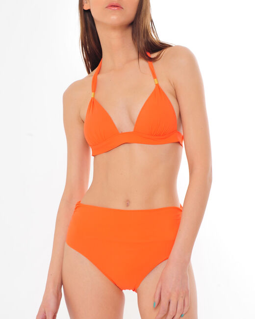 Orangefarbene Bikini-Hose Juliette (1) - 1-2-3