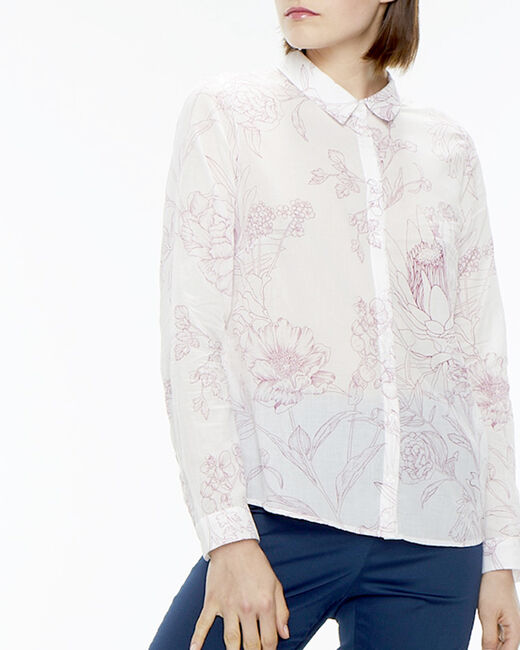 Ravel cotton pink printed shirt (1) - 1-2-3