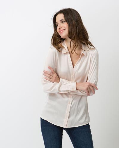 Dany powder pink silk shirt (1) - 1-2-3