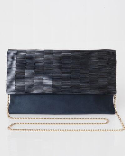 Priyanka blue beaded clutch bag (1) - 1-2-3