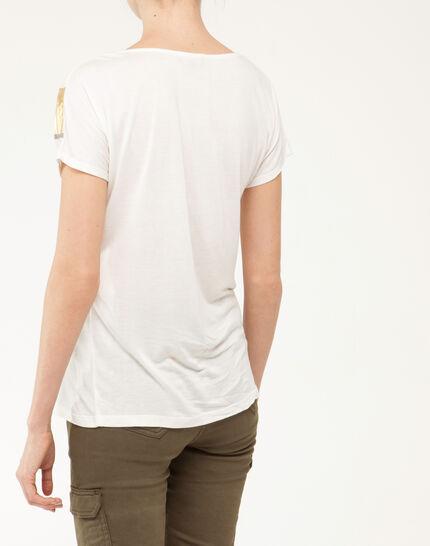 Tee-shirt imprimé brillant Nail (5) - 1-2-3