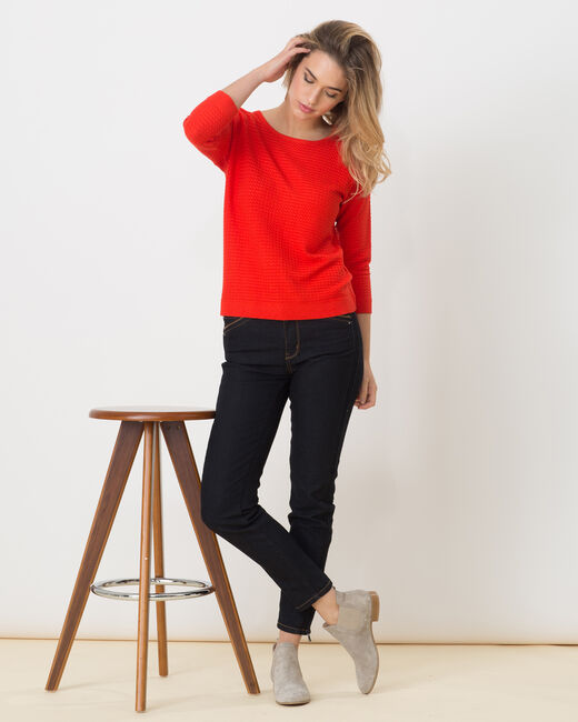 Hélice geranium sweater with long sleeves (2) - 1-2-3