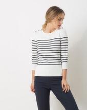 Hublot blue striped sweater navy.