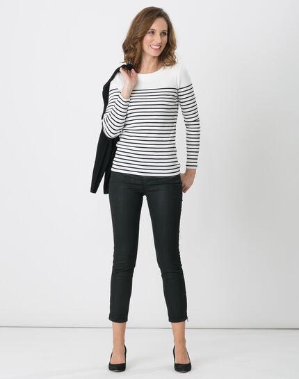 Naval striped navy blue T-shirt (4) - 1-2-3
