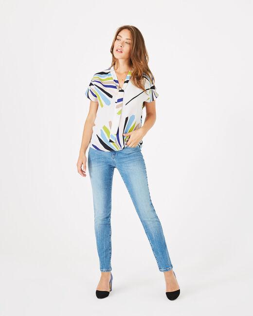 Donovan printed blouse (2) - 1-2-3