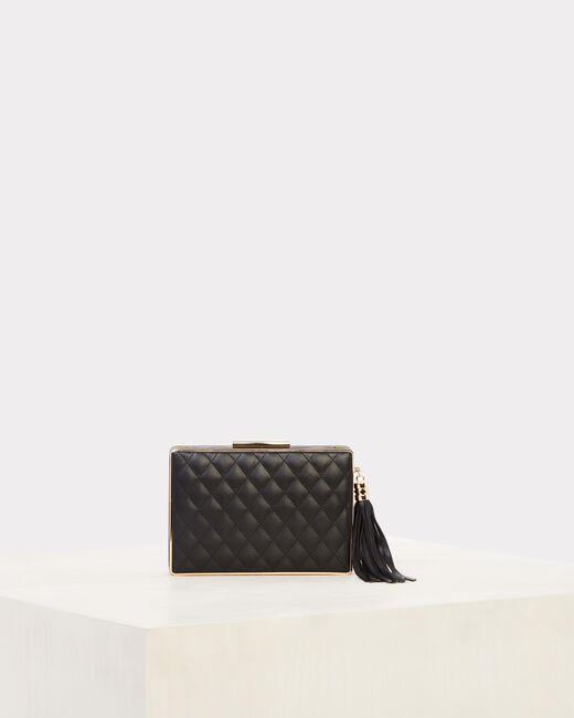 Rafaella black quilted clutch (1) - 1-2-3