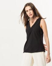 Nala black sleeveless top black.