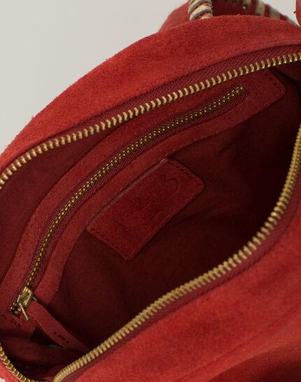 Pedro red velour bag (4) - 1-2-3