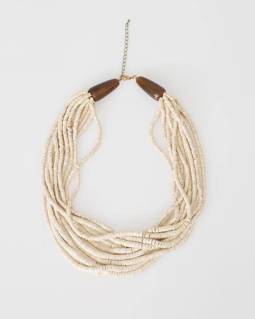 Collier ethnique perlé Wasabi (1) - 1-2-3